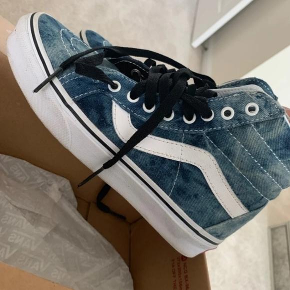 Vans Shoes | Vans Acid Denim Jeans W55 | Poshmark